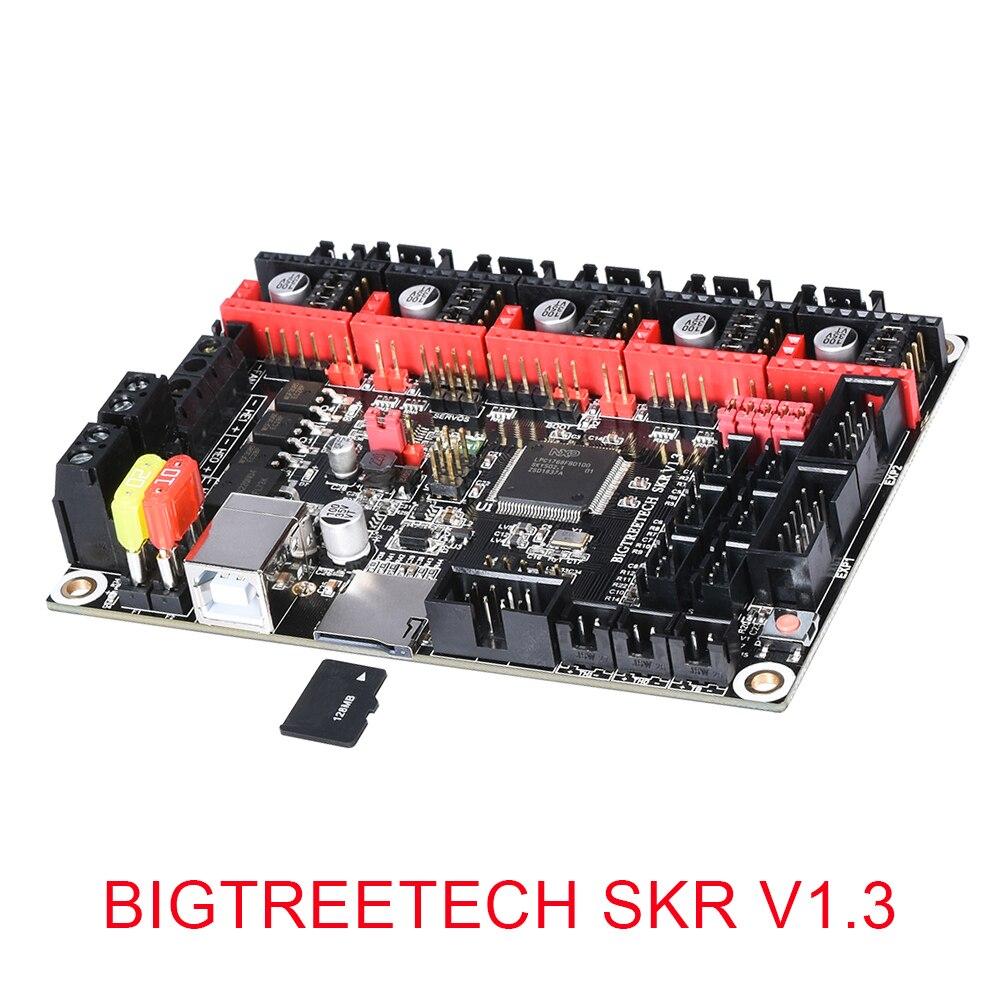 Placa Controladora Da Impressora BIGTREETECH SKR V1.3 3D BRAÇO 32 Pouco Mainboard TMC2208 Compatível Smoothieboard Marlin 3d peças da impressora