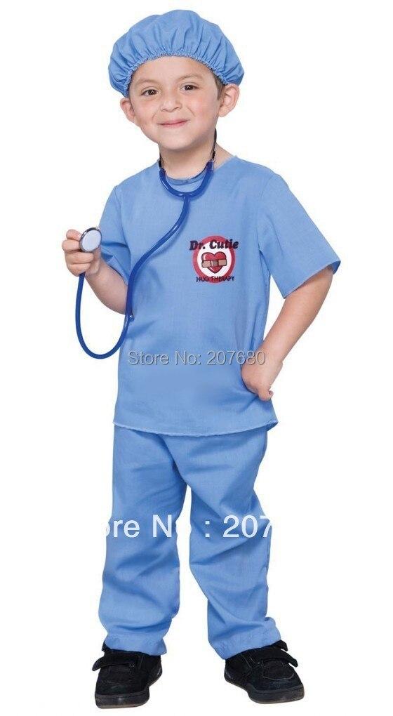 Косплэй костюм детский врачи Равномерное Костюмированный вечер этап Показывает Костюмы включают стетоскопы