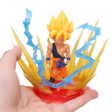 9 pçs/set Dragon Ball Z Figura de Ação Dragon Ball Super Vegeta Frieza Full Power PVC Figura Gogeta son Goku Broly brinquedos modelo(China)