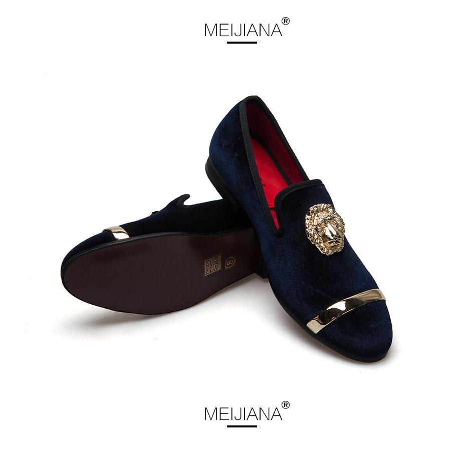HTB1a5MgXUl7MKJjSZFDq6yOEpXag - New Fashion Gold Top and Metal Toe Men Velvet Dress shoes italian mens dress shoes Handmade Loafers