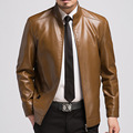 Mens Winter Leather Jackets Bomber Jacket Arrival  Black Zippers Long Sleeve Men Motorcycle Leisure Plus Size A Jacket