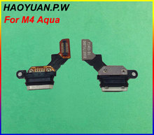 Tested Original USB Charging Charger Connect Plug Dock Socket Port Flex Cable For SONY Xperia Aqua Dual M4 E2303 E2333 E2363(China)