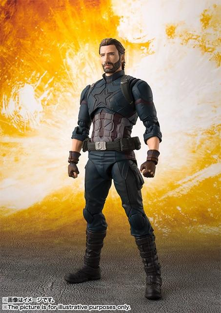 Фигурка Капитан Америка Мстители 16 см ПВХ 4