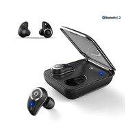 I7Plus Bluetooth Earphone True Wireless Ear Buds IPX7 Waterproof 3D Stereo Headset 2000mAh Power Bank Phone Charge For Xiaomi