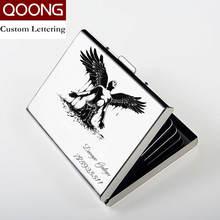 Qoong Персонализированная надпись из нержавеющей стали rfid