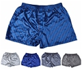 (1PCS/Lot) Silk Short boxers, Men's satin Underwear, Homewear Men Underpants Plus Size M,L,XL,XXL Multicolor in stock