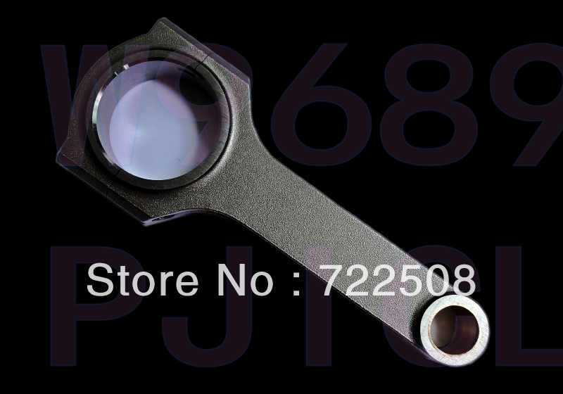 connecting rod for forged H beam rally racing colt 4g18 4g15 czt 1.5T drag race turbo tuning car free shipping quality warranty