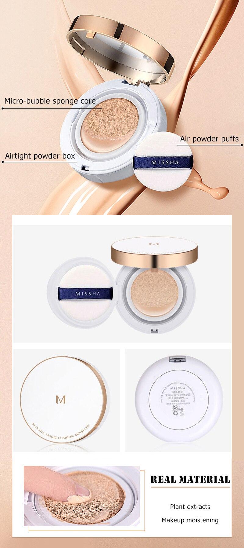 CC creme Maquiagem Fundação Sunscree Coréia