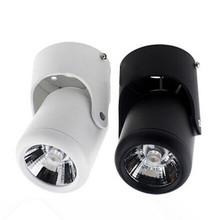 Factory Hot Sale Dimmable 10W/15W COB Surface Mounted Led Down Light Round Spot light AC85-265V