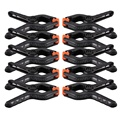 10Pcs/lot 2 Inches Photography Background Stand Holder Clip Mount Camera Backdrop Clamps Pegs Photographic Equipment
