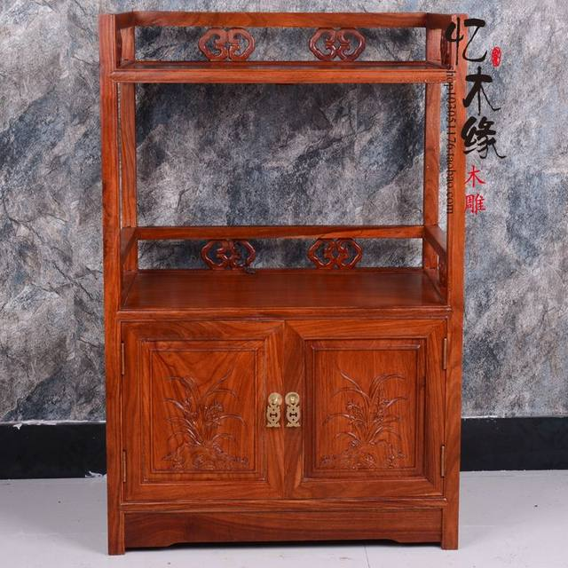 Merveilleux Mahogany Tea Cabinet, Microwave Oven Cabinet, Rosewood Dining Counter,  Small Tea Table, Chinese Solid Wood Furniture, Tea Cabine