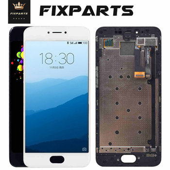 100% Tested NEW Meizu Pro6 Pro 6S Pro 6 Plus LCD screen display+ Touch Screen Digitizer assembly meizu pro 6 lcd Pro6S Pro 6Plus