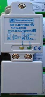 Livraison gratuite 2 pcs/LOT nouveau commutateur C40FP260 XS8 AC normalement ouvert ou normalement fermé capteur inductif