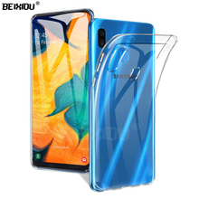 Case For Samsung Galaxy A10 TPU Silicon Durable Clear Transparent Soft for SM-A105F/DS protective Back Cover
