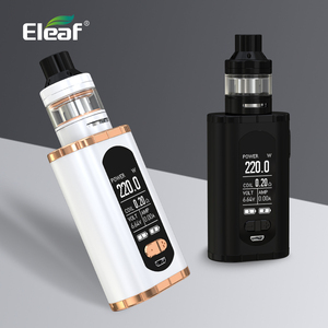 "Image 5 - ארה""ב/צרפת מחסן מקורי Eleaf להפעיל עם ELLO T ערכת 220W 1.3 אינץ מסך 0.2ohm HW3/0.3ohm HW4 סליל E סיגריה"