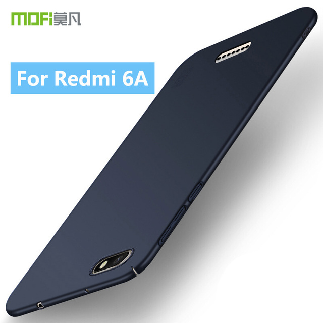 best service 45362 1eadb For Redmi 6A MOFi Case Classic Frosted PC Hard Back Protective Phone ...