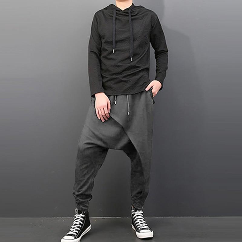 de cintura elástica largas largas casuais plus