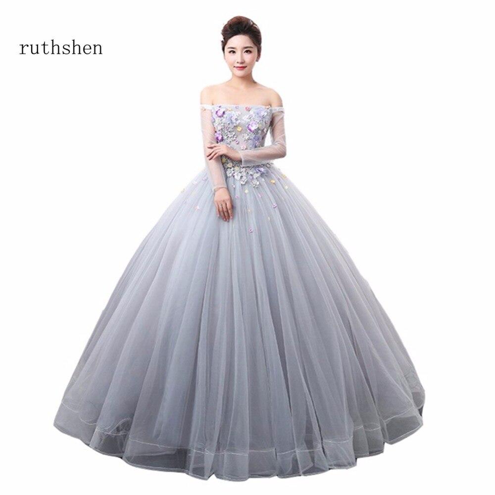 ruthshen Luxury Off The Shouler Quinceanera Dresses Boat Neck Vestidos De  15 Anos Quinceanera Gowns Sweet 16 Debutante Dresses 88dfedc29dde