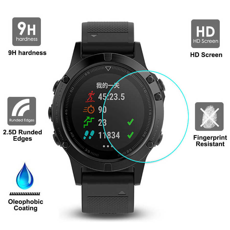 9H Tempered Glass Screen Protector for Xiaomi Huami Amazfit Verge 3 Protective Film Guard Anti Explosion Anti-shatter Glass