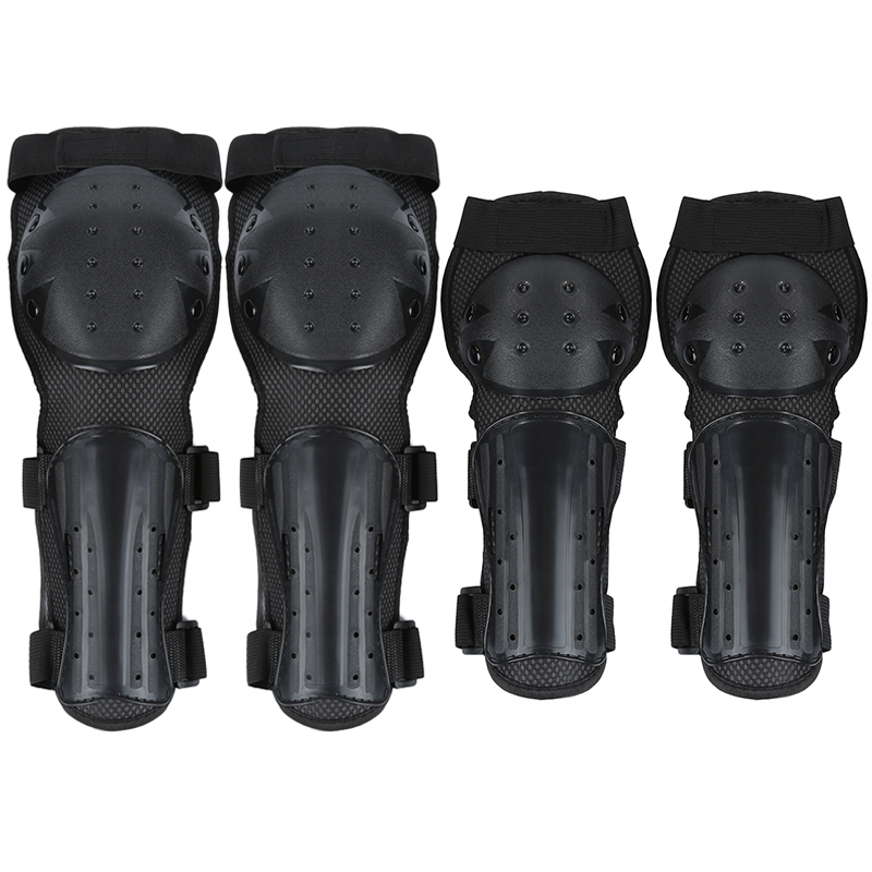Skating Elbow Knee Guard Motorcycle Scooter Kneepad Protector w// PP Shell