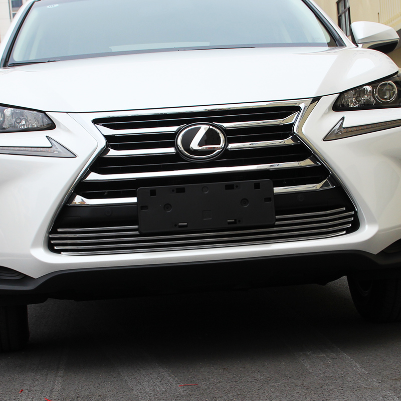 free shipping car styling car grill net trim for lexus nx200 nx200t nx300h 2015 2016 2017
