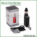 NEW Original Smok R40 Kit with 40W TC Box Mod Support SS/NI200/TI Wire 1900mah Capacity and 2.8ml Micro Basic Tank