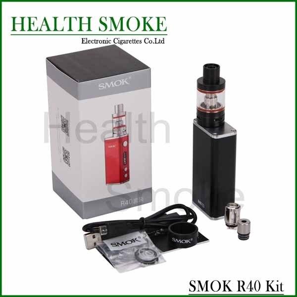 NUEVA Original Smok Kit con 40 W TC R40 Caja Apoyo Mod SS/NI200/TI Alambre 1900 mah capacidad y 2.8 ml Micro Tanque Básico