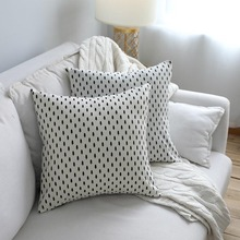 цены на Pillowcase Tree Print Cotton Pillow Case Square Cushion Cover Throw Waist Simple Sofa Bedroom Car Home Office Decorative Hot  в интернет-магазинах