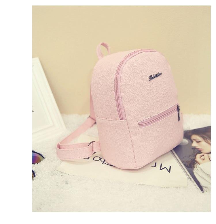2019 New Backpack Summer Small Women Backpack Candy Color Student Travel Shoulder Bags Teenager Girls Female Mochila Bagpack