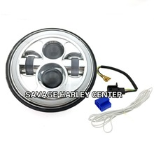 7 INCH MOTORCYCLE PROJECTOR DAYMAKER HID LED LIGHT BULB HEADLIGHT For Harley