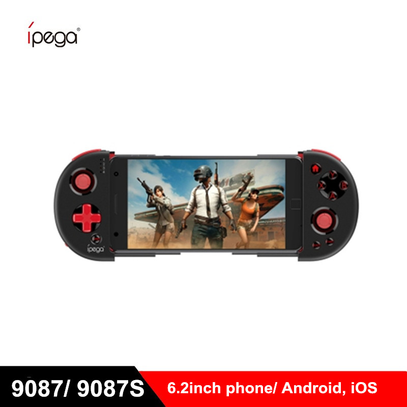 iPEGA PG-9087 9087s Bluetooth Gamepad for Android / IOS Smart Phone PG 9087 Extendable Game Controller for Tablet PC Tv Box(China)