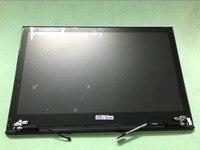 LCD لمس + أعلى الغطاء الخلفي + الإطار الأمامي + عرض الأسود لسوني VAIO برو 13 PRO13 SVP13 SVP132 محمول حالة + كابل الشاشة + مفصلات