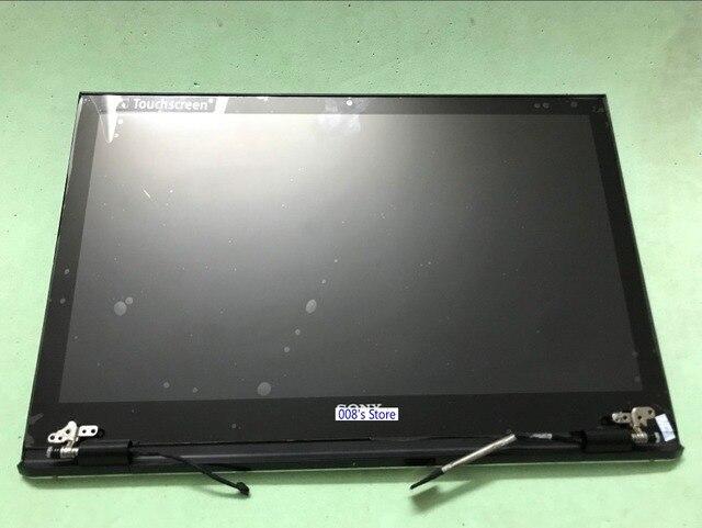 LCD Touchscreen + Top Zurück Abdeckung + Front lünette + Display Schwarz Für SONY VAIO PRO 13 PRO13 SVP13 SVP132 laptop Fall + Bildschirm Kabel + Scharniere