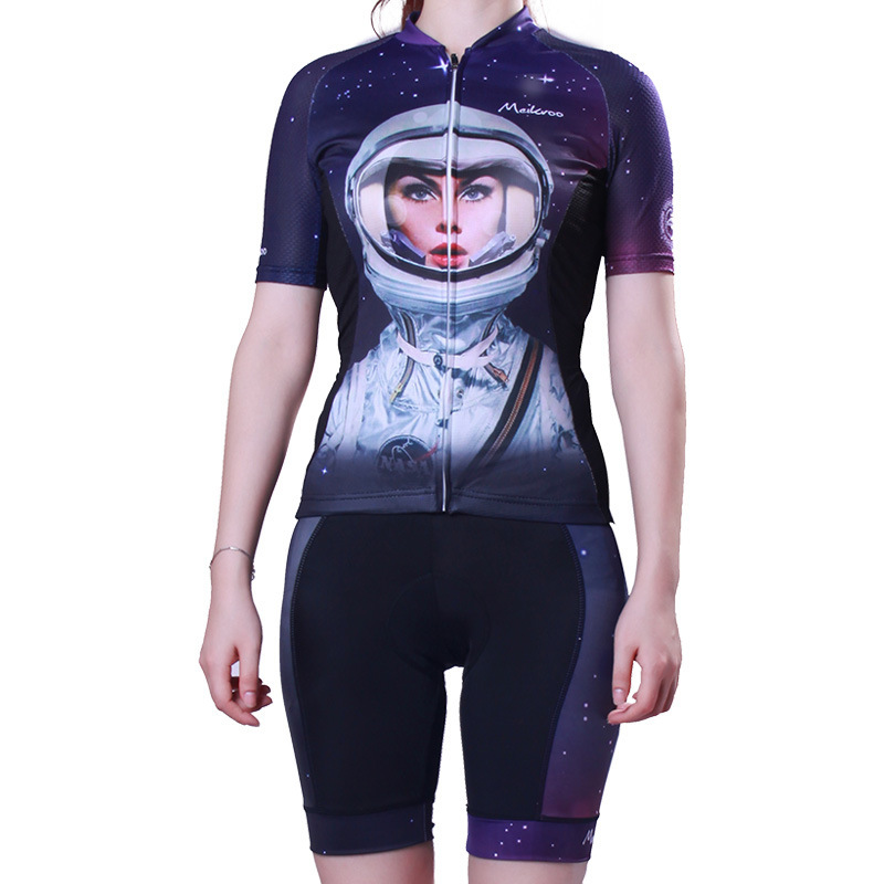 Tour de France team summer womens cycling Jersey short-sleeved suit mesh stitching ultra-thin breathable biker bike ciclismo Tour de France team summer womens cycling Jersey short-sleeved suit mesh stitching ultra-thin breathable biker bike ciclismo