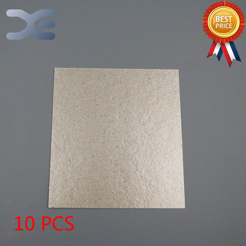 10Pcs/Lot High Quality Microwave Oven Repairing Part 13 x 12cm Mica Plates Sheets For Galanz etc Microwave 10pcs high voltage fuse for microwave oven 0 9a yb
