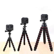 Ahtapot tripodlar standı örümcek esnek cep Mini Tripod Gorillapod iPhone GoPro Canon Nikon Sony kamera masa masa