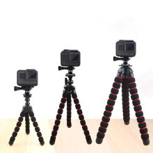 цена Octopus Tripods Stand Spider Flexible Mobile Mini Tripod Gorillapod For iPhone GoPro Canon Nikon Sony Camera Table Desk онлайн в 2017 году