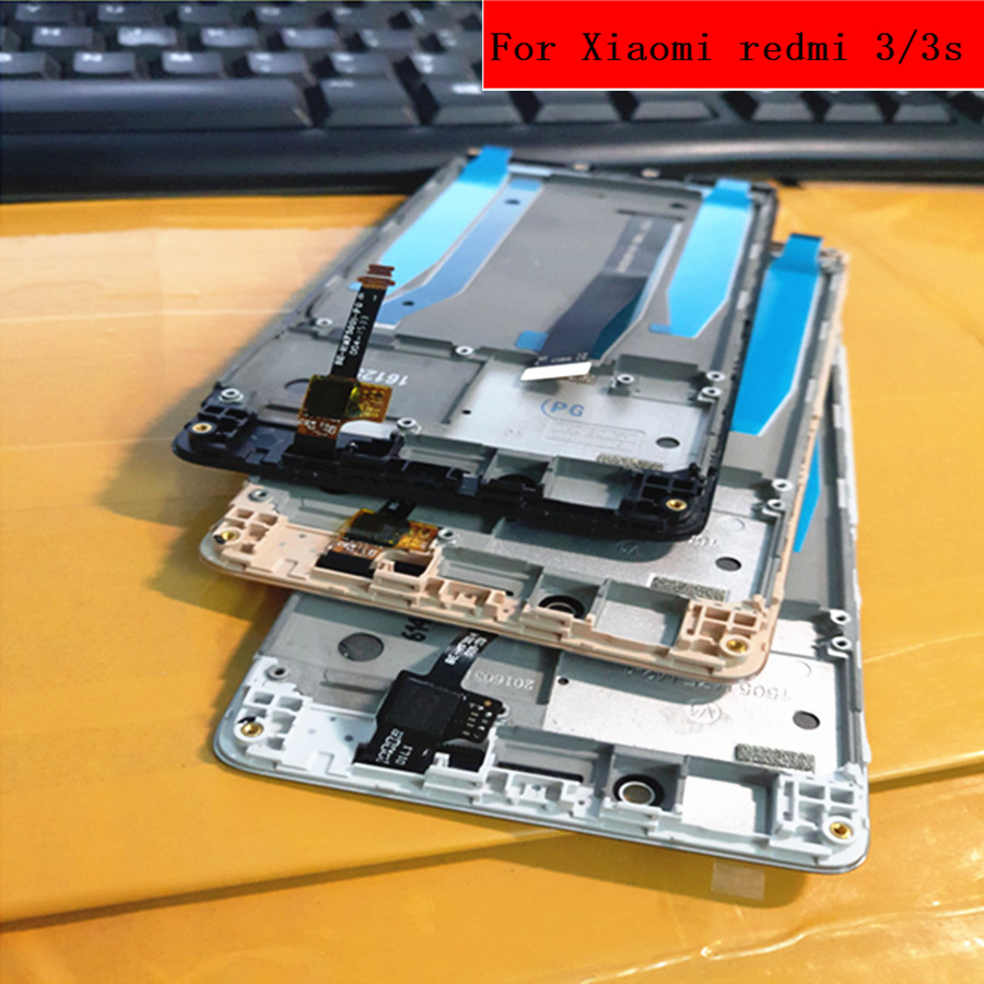 tested! FOR Xiaomi Redmi 3s LCD Display +Touch Screen+FrameReplacement Accessories for Hongmi3 Redmi 3