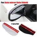 Universal Car Espelho retrovisor weatherstrip adesivo protetor capa de Chuva chuva sobrancelha para solaris Hyundai Lada Granta KIA Rio