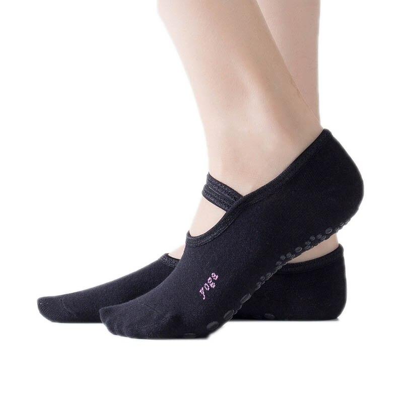 Sock Slippers for Women Anti Slip Bandage Cotton Sports Socks Ladies Ventilation Pilates Ballet Socks Dance Sock Slippers Hot