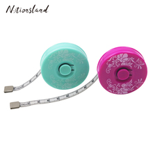Tape Measure Retractable Measuring Tape for Body Measurement Sewing Tailor Cloth Ruler Printed Pattern Sewing Tools 150cm sewing tailor tape measure soft 1 5m sewing ruler meter sewing measuring tape body measuring ruler random color