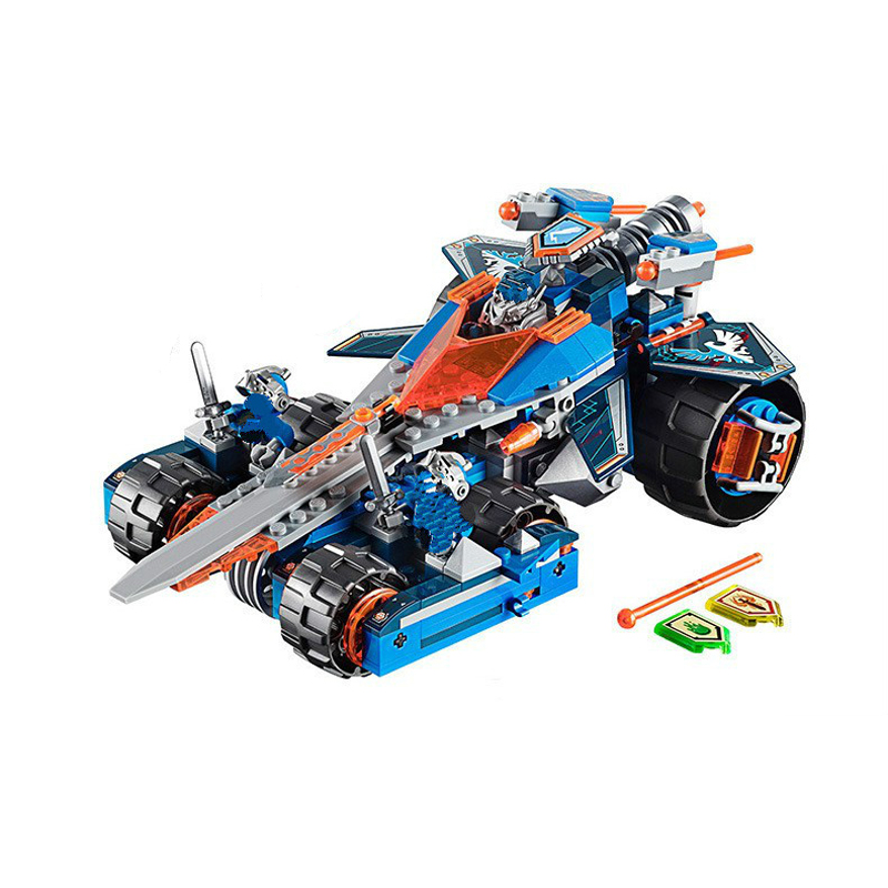 379pcs 10488 Clay's Rumble Blade Building Blocks Bricks Toys Game Toys For Children Castle Weapon Car Compatibe Lepin 70315 rumble roses xx купить спб