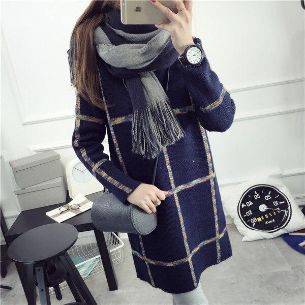 De DoveChildren a cuadros abrigo de invierno que basa la camisa floja larga secc