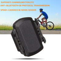 YS Bike Bicycle ANT Bluetooth Wireless Speed Cadence Sensor For Garmin Bryton GPS Computer