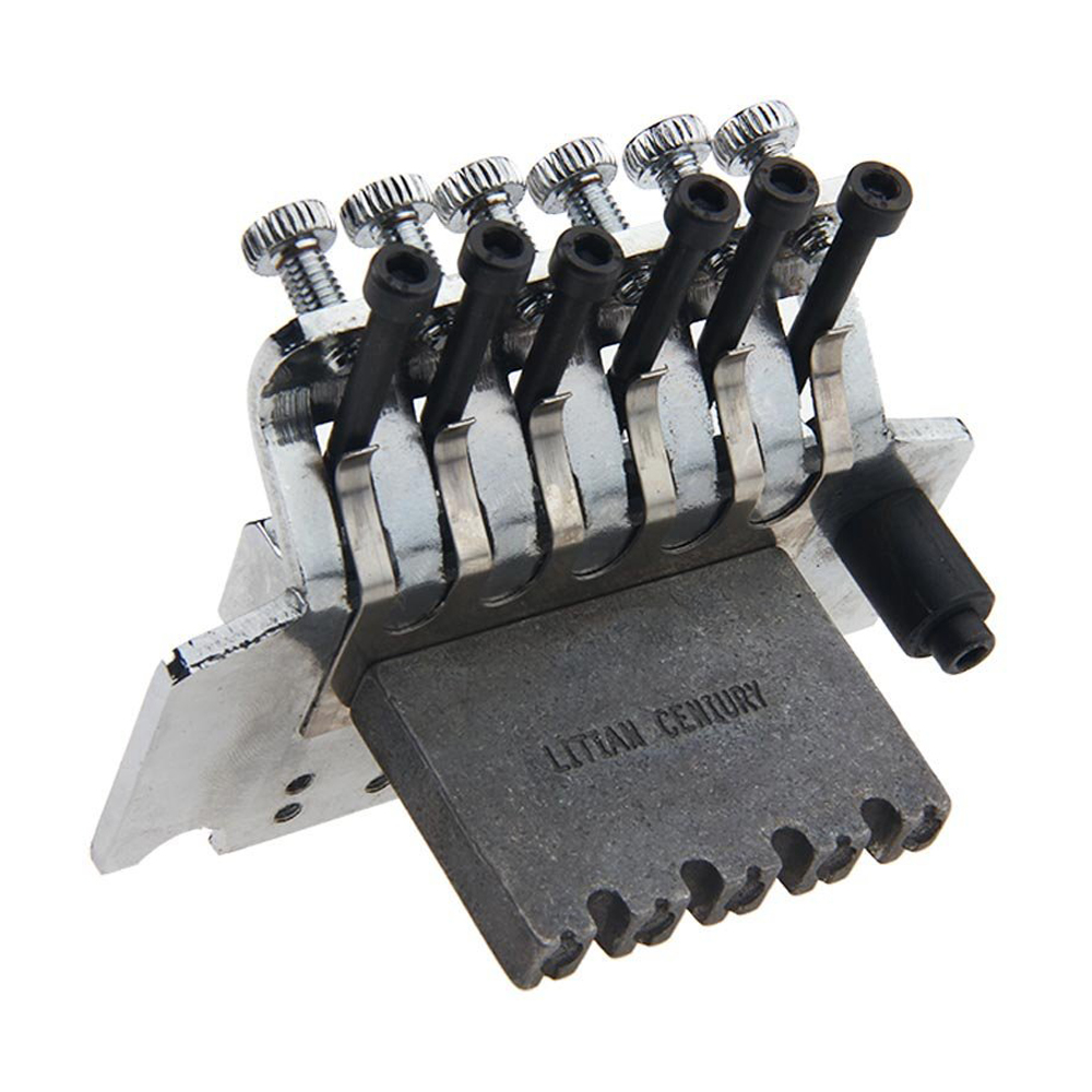 купить Double Locking Tremolo System Bridge For Electric Guitar Floyd Rose Parts Silver в интернет-магазине