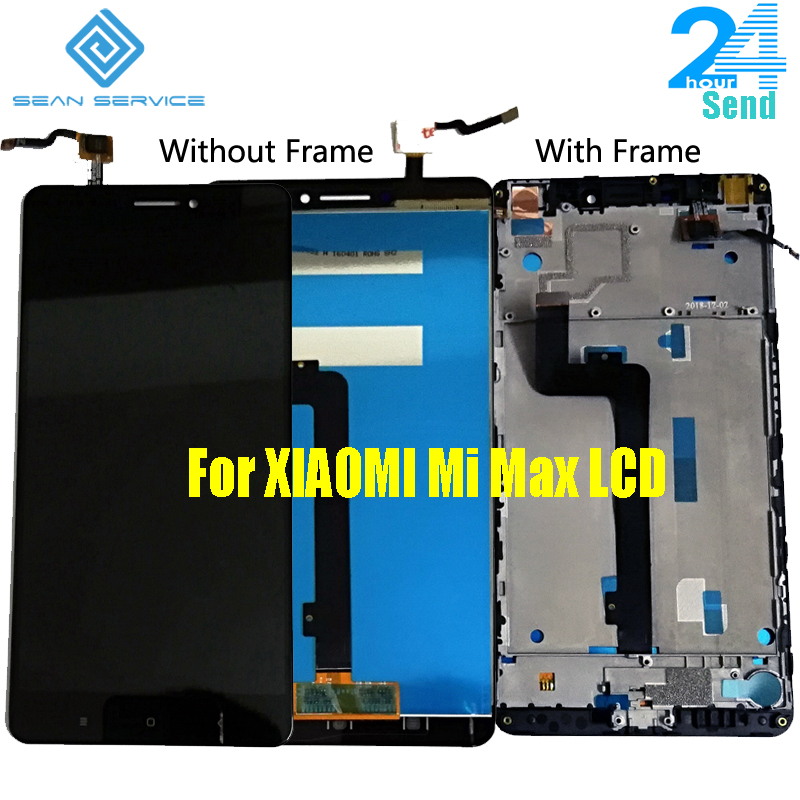 Original <font><b>Display</b></font> For <font><b>XIAOMI</b></font> <font><b>Mi</b></font> <font><b>Max</b></font> LCD <font><b>Display</b></font> and Touch Screen with Frame Replacement Screen 6.44
