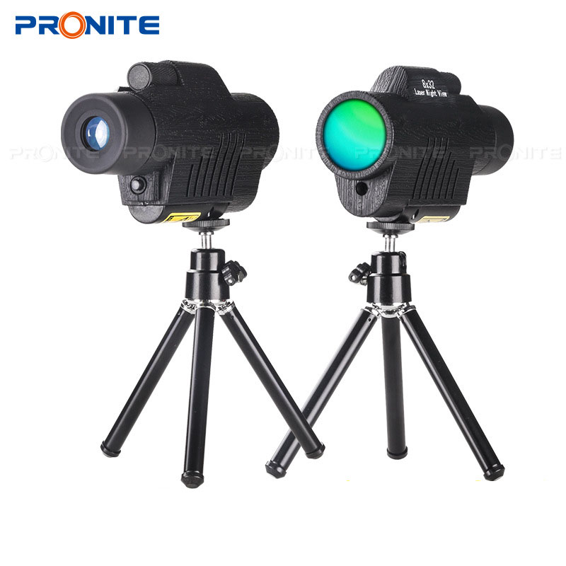 Image 4 - Professional Monocular Zoom Vision 8x32 Focusing Telescope High power HD Laser Night Vision Monocle Hunting Spyglass Night view-in Monocular/Binoculars from Sports & Entertainment