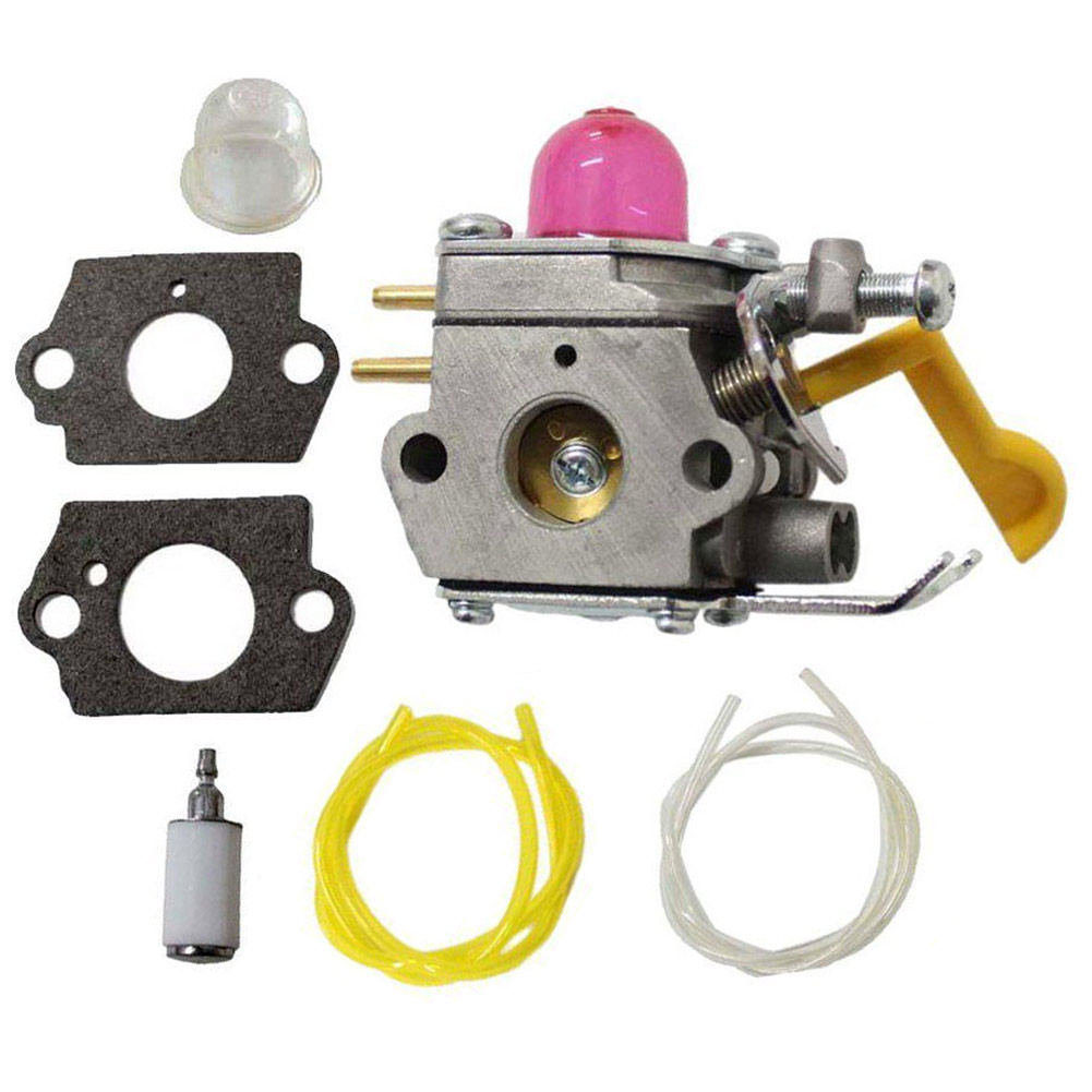Hot Carburetor Carb Fuel Line Filter Primer Gas Bulb Gasket Repair Kit Set Fit for SST25 FL20 FL23 FL26 FX26S MX550 new arrival carburetor for type br500 br550 br600 backpack blower c1q s183 carb set gaskets primer bulb with fuel line fuel