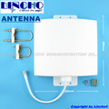 Impermeable al aire libre 12dBi 800-2700 MHz LTE 4G repetidor de señal GSM 3G WIFI antena de panel plano