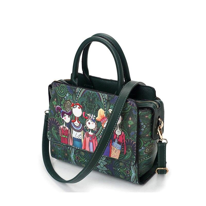 bolsa de retalhos de couro Abacamento / Decoração : Apliques